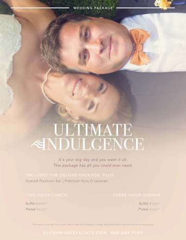 Page 5 | Ultimate Indulgence Wedding Package